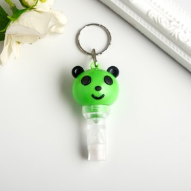 "Flashlight light ring+whistle ""Panda"" flashing a MIX of 6,3x2,5x3,2 cm"