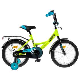 """Велосипед 16"""" Novatrack Vector, 2020, цвет салатовый"""