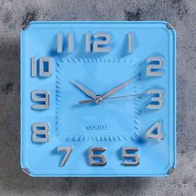 "Часы настенные, серия: Классика, ""Кендис"",  19х3х19 см, 1 АА,  плавный ход"