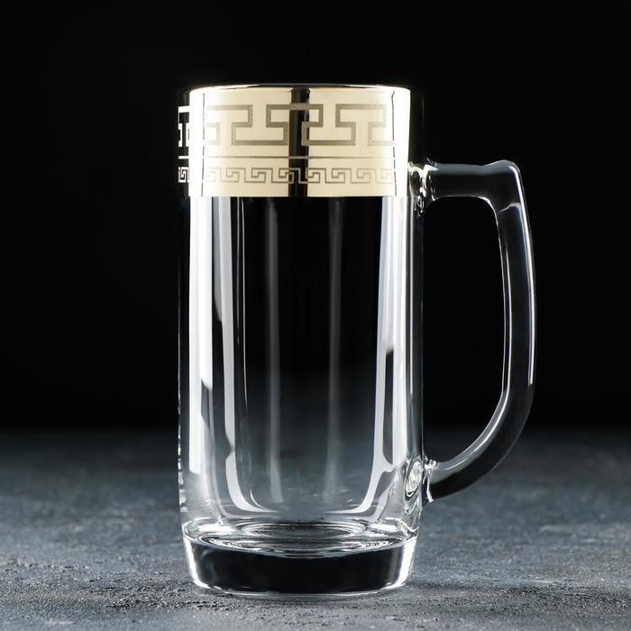 Кружка для пива «Нэро», 330 мл, в подарочной упаковке