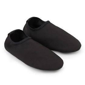 Аквашузы женские MINAKU «Пляжные», цвет чёрный, размер 36-37