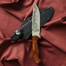 """Нож туристический """"Зодиак"""" вощеный орех, сталь 40х13"""