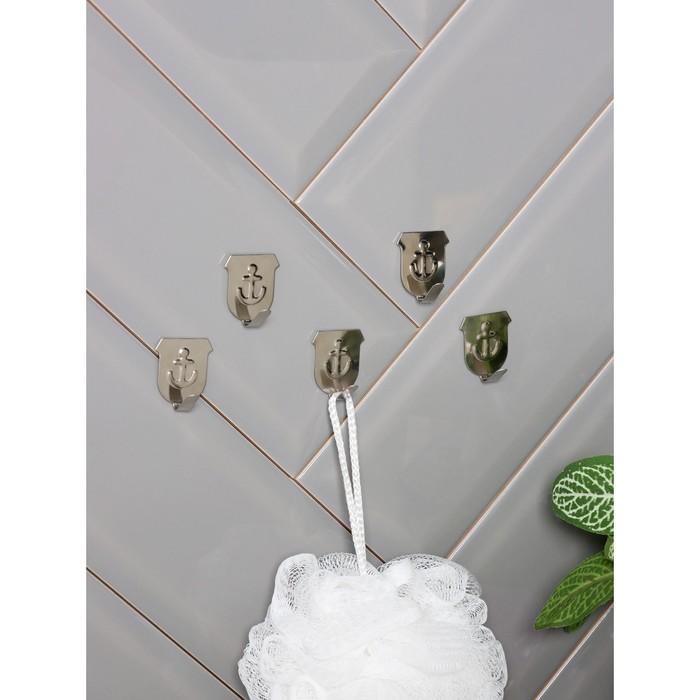 "A set of metal hooks on Velcro 5 PCs ""Anchor"""