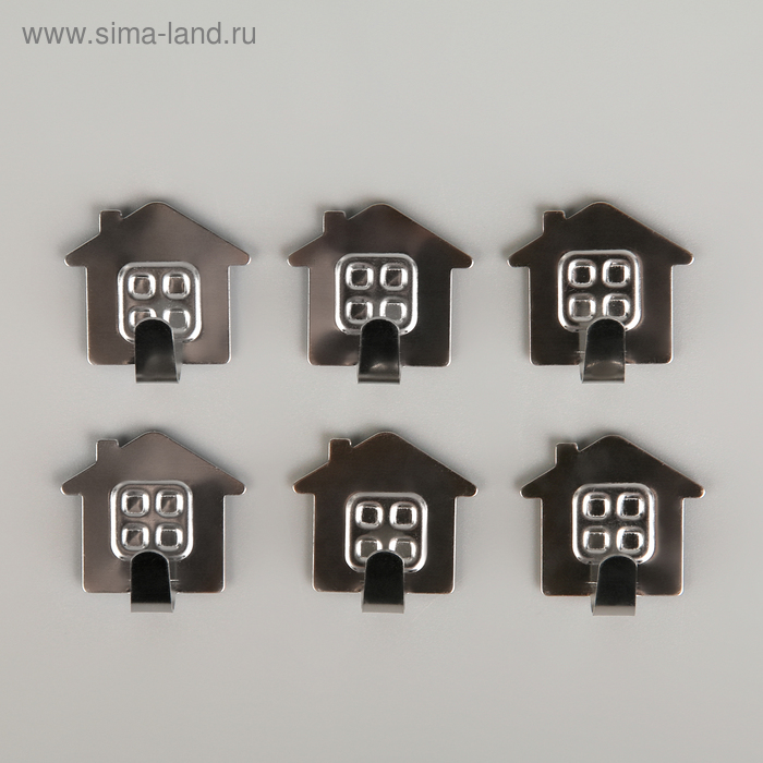 """A set of metal hooks on Velcro 5 PCs of """"Home"""""""