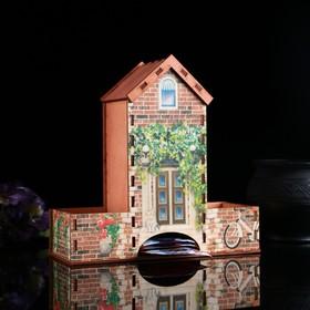 """Чайный домик """"Кирпичный домик"""", 20х20х8 см"""