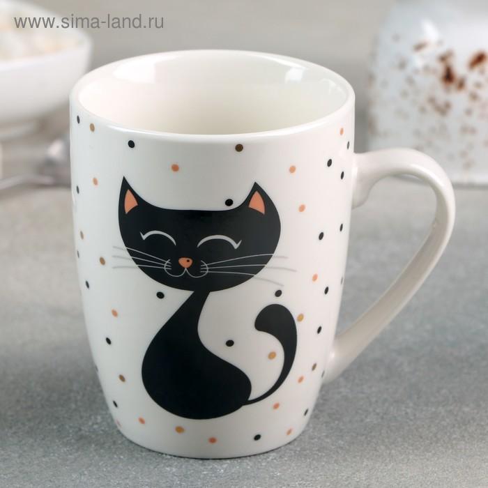 """Mug """"Cat"""" 350 ml 12,5x8,8x10,5 cm"""