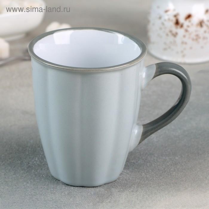 "The circle ""Marshmallow"" 360 ml, 11,5x7,8x10,7 cm, colour grey"