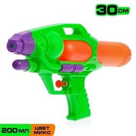Водный пистолет «Страйк», 30 см, цвета МИКС