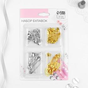 A set of pins 60pcs English No. 1 20/20pcs No. 3 10/blister 10pcs AU
