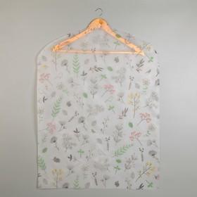 "The case for clothes ""Spring"" 60x80 cm, PEVA"