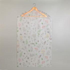 Чехол для одежды «Весна», 60×100 см, PEVA