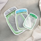A set of bags for food storage 3 piece 15x10/20,4 x-13/24,2x16,3 cm, zip-lock, MIX color