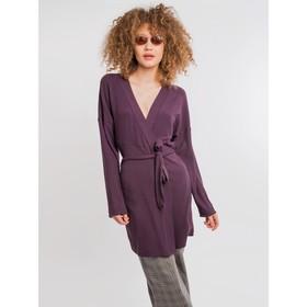 Кардиган женский, цвет фиолетовый, размер 50 (XL) Ош