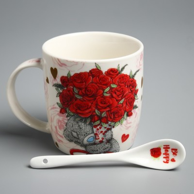 "Mug set with spoon Me To You ""For you"", 350 ml"