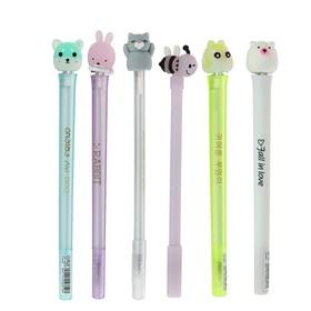 Pen gel pen-funny MIX Animals