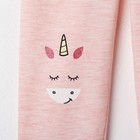 """Леггинсы для девочки KAFTAN """"Happy"""" р.34 (122-128), розовый - фото 105571385"""