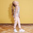 """Леггинсы для девочки KAFTAN """"Happy"""" р.34 (122-128), розовый - фото 105571381"""