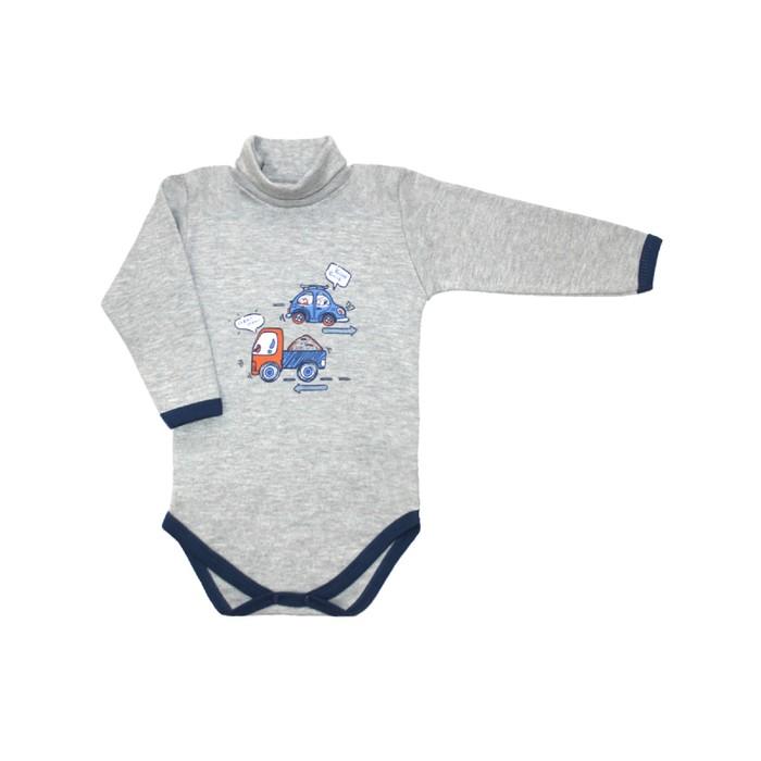 Боди для малышей «Маленький автолюбитель», рост 74 см