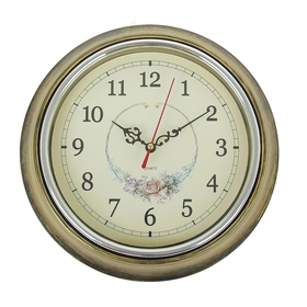 """Часы настенные, серия: Классика, """"Розочка"""", d=25 см"""