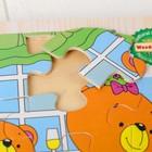 Книжка-пазл «Мишки на кухне» 2,2×14,5×17,5 см - фото 1037186