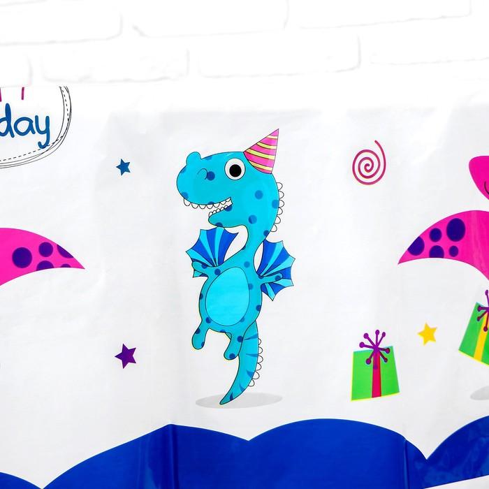 "The tablecloth ""the Birthday Dragon"" 132х220 cm"