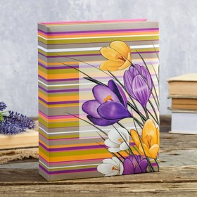 "192 photo album for pictures 10x15 cm ""Meadow flowers"" MIX 22,5x17,5x5,5 cm"