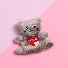 "Soft magnet ""Love"", cat"