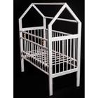 Кровать детская Женечка-8 домик, цвет белый - фото 105549564