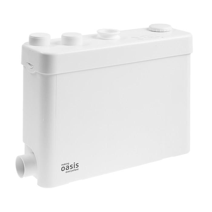 Насос канализационный Oasis SV-400, для раковины, 400 Вт, 100 л/мин, напор 6 м, емкость 8 л