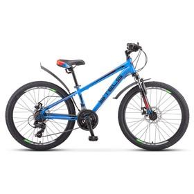 """Велосипед 24"""" Stels Navigator-400 MD, F010, цвет синий/красный, размер 12"""""""