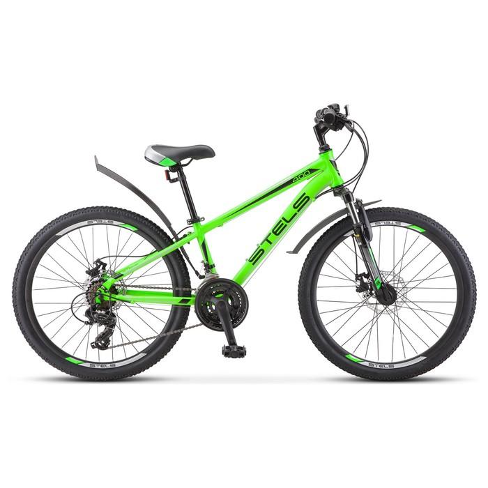 "Велосипед 24"" Stels Navigator-400 MD, F010, цвет зелёный, размер 12"""