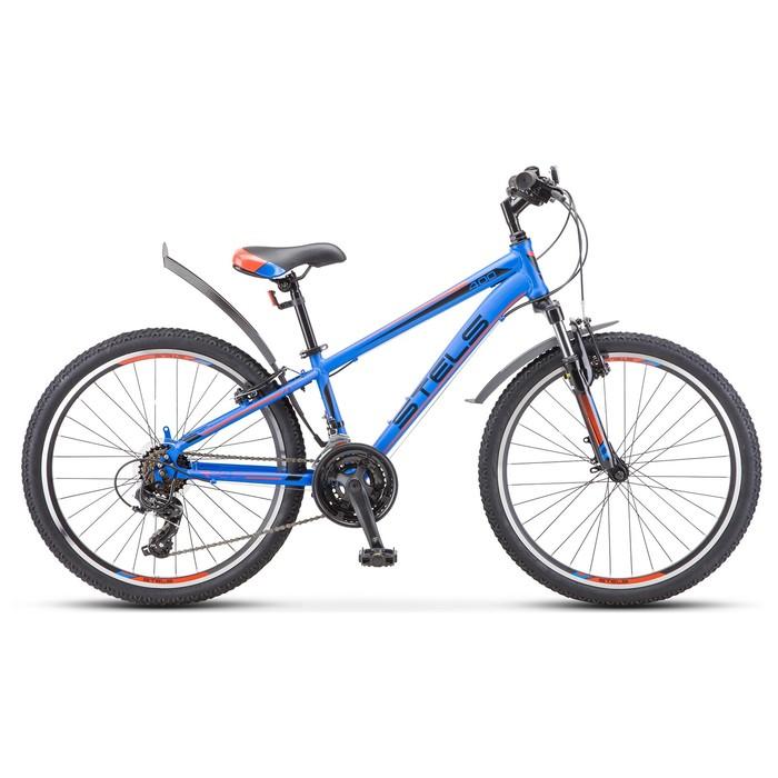 """Велосипед 24"""" Stels Navigator-400 V"""" F010, цвет синий/красный, размер 12"""""""