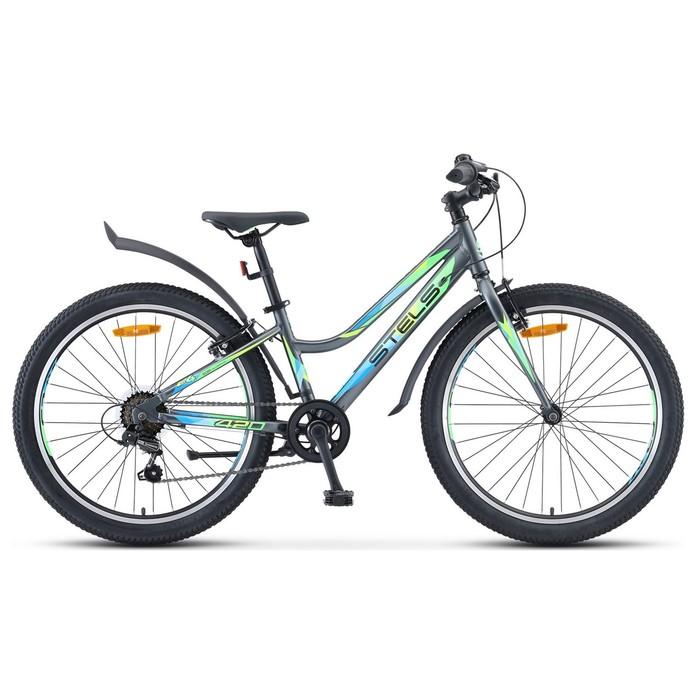 "Велосипед 24"" Navigator-420 V, V030, цвет серый, размер 13"""