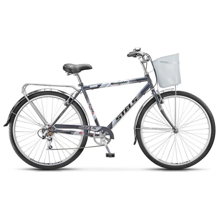 "Велосипед 28"" Stels Navigator-350 Gent, Z010, цвет серый, размер 20"""