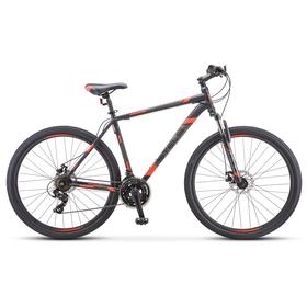 """Велосипед 29"""" Stels Navigator-900 MD, F010, цвет чёрный/красный размер 19"""""""