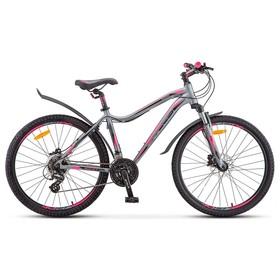 """Велосипед 26"""" Stels Miss-6100 D, V010, цвет серый, размер 17"""""""