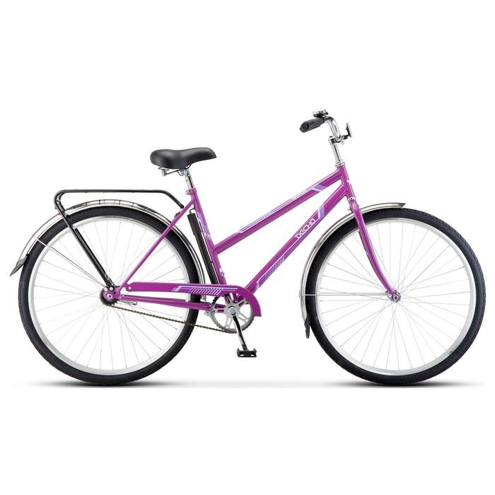 """Велосипед 28"""" Десна Вояж Lady, Z010, цвет фиолетовый, размер 20"""""""
