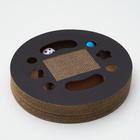 Гофрокогтеточка-круг с шариками, 33 х 5 см - фото 308855997