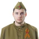 Набор военного «Победа», пилотка, брошь-лента, обхват головы 56 см