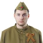 Набор военного «Салют», пилотка, брошь лента