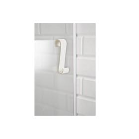 Крючок для ванной S-образный, пластик, цвет бежевый