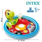 """Круг для плавания с сиденьем """"Зверюшки"""", от 3 до 4 лет, МИКС 59570NP INTEX"""