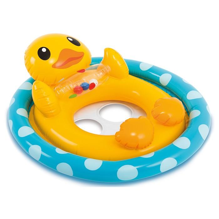 Круг для плавания с сиденьем «Зверюшки», от 3 до 4 лет, МИКС 59570NP INTEX - фото 379597485