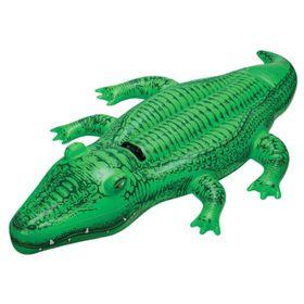 Игрушка для плавания «Крокодил», 168 х 86 см, от 3 лет, 58546NP INTEX