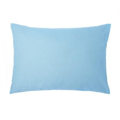 Pillow case 50*70 Ethel black.blue, calico, 125 gr/m2,100% cotton