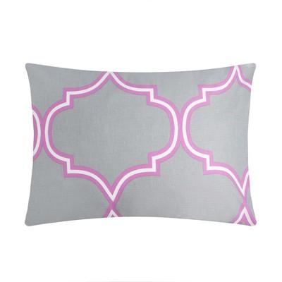 """Pillow case """"Ethel"""", size 50x70 cm, color purple, poplin"""