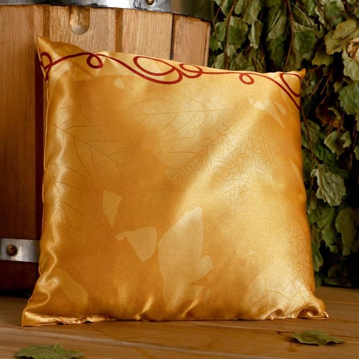 Подушка сувенирная, 22×22 см,  лаванда, можевельник