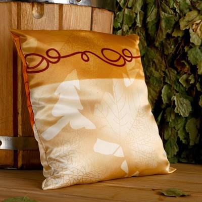 Pillow gift, 22×22 cm, hops, tea rose, Jasmine, lavender