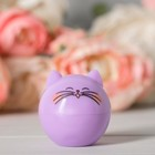 """Блеск детский для губ """"Модный котик"""", фиолетовый котик, аромат виноград 12 грамм - фото 105551293"""