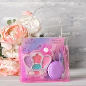 Набор косметики для девочки в сумке «Модная девчонка»